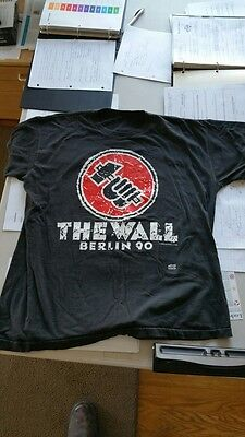 Vintage T-Shirt The Wall Live In Berlin1990 L Waters / Pink Floyd
