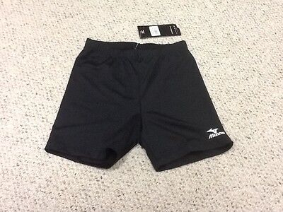 New Women's Mizuno DryLite Volleyball Shorts - Size Small - Black