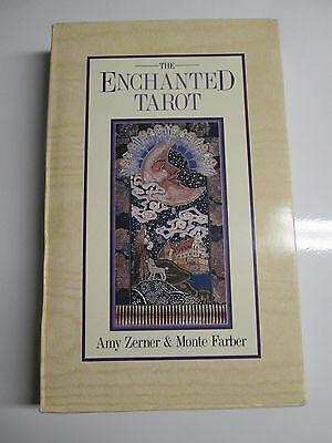 New The Enchanted Tarot Cards & Book by Amy Zerner & Monte Fraber