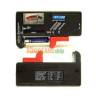 Universal Battery Tester Checker AA AAA 9V Button