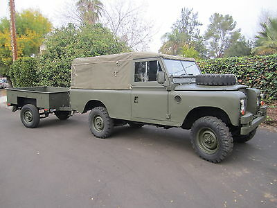 1975 Land Rover Other Military 1975 LAND ROVER SERIES 3 109 with 1975 LAND ROVER TRAILER. NOT A DEFENDER.