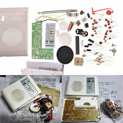 AM FM Radio PCB Cable Kit Receiver Parts CF210SP for Ham Electronic DIY Assemble