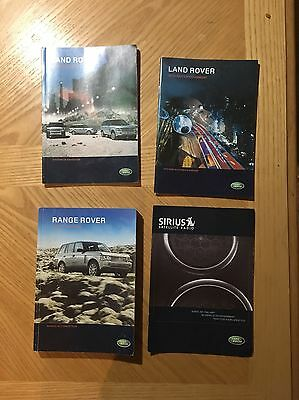 2008 Land Rover Owner's Manual Set