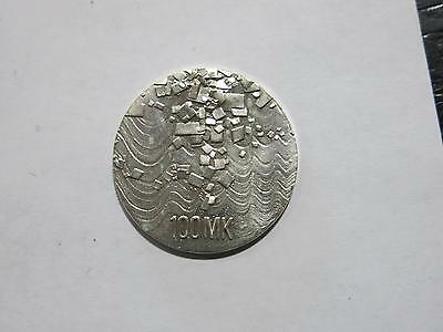 Finland Suomi 1992 100 Markkaa Independence Anniv Silver Coin Old Collection Lot