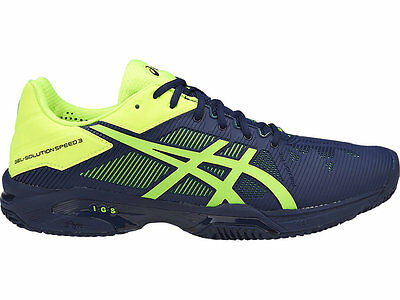 Bona Fide Asics Gel Solution Speed 3 Herringbone Mens Tennis Shoe (D) (4907)