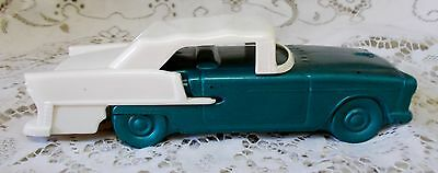 Vintage Avon 1955 Chevy Green White Car Spicy After Shave Bottle