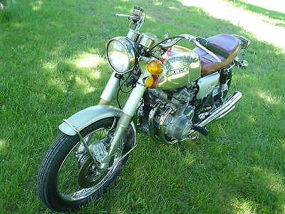 1973 Honda CB  1973 HONDA CB 350 FOUR - Cafe Racer Style - Original Exhaust - VG Condition