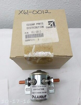 New Cessna Lamar Solenoid X61-0012 with Certificate