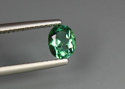 0.63 Cts_Simmering Ultra Nice Gemstone_100 % Natural Neon Green Apatite_Brazil