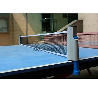 Replacement Games Retractable Table Tennis Ping Pong Portable Net Mesh Rack
