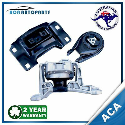 Mazda 3 Engine Mount Left + Right Hand + Rear Set 2.0L 2004-ON Auto / Manual MZR