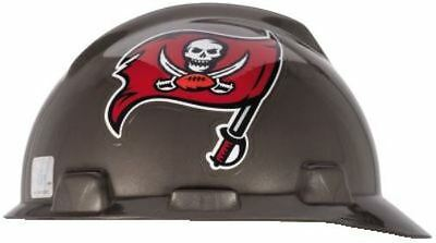 NEW Tampa Bay Buccaneers Hard Hat NFL MSA Safety Works New in Bag 818443 TB Bucs