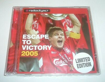 ESCAPE TO VICTORY 2005 - Liverpool,Istanbul,Champions League,Limited Edition CD