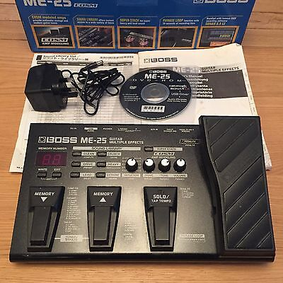 Boss Guitar Multi Effects Pedal ME-25