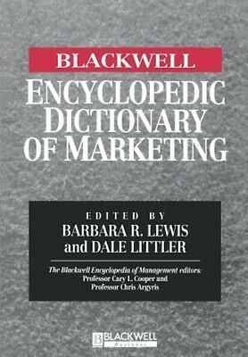 Encyclopedic Dictionary of Marketing by Barbara R. Lewis Paperback Book (English