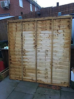 Larchlap 6 X 6 Pressure Treated Fence Pannel Qty 3