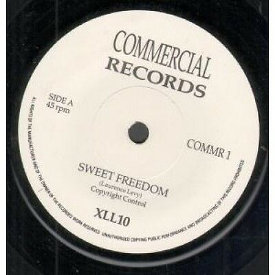 "XL110 Sweet Freedom 7"" VINYL UK Commercial B/W Soon Peace Will Rain (Commr1)"