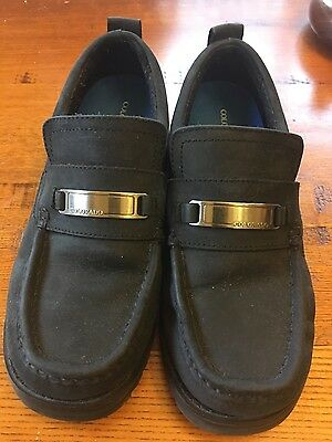 womens colorado shoes black leather size 8