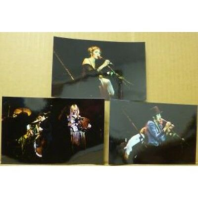 FLEETWOOD MAC Live On Stage PHOTOGRAPH UK Set Of 3 Small Colour Photos Of Band