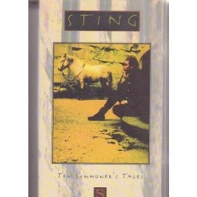 STING Ten Summoner's Tales VIDEO UK Polygram 1995 11 Track Running Time Approx