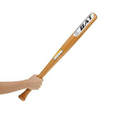 "Quality 25"" Wooden Softball/Baseball Bat Lightweight Full Size Youth Adult"