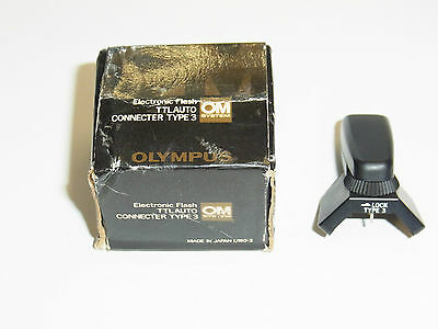 Olympus Electronic TTL Auto Connecter Type 4 (Connector) for OM-1n/2n