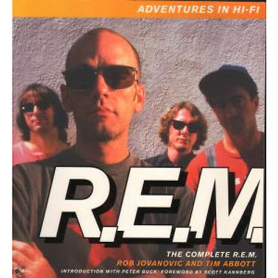 REM Adventures In Hi-Fi BOOK UK Orion 350 Page Paperback Book By Rob Jovanovic