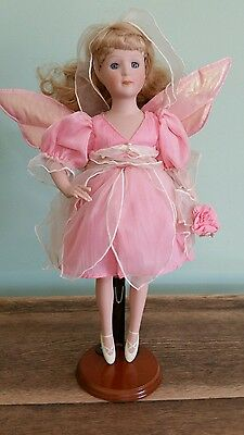 Fairy Ballerina porcelain doll