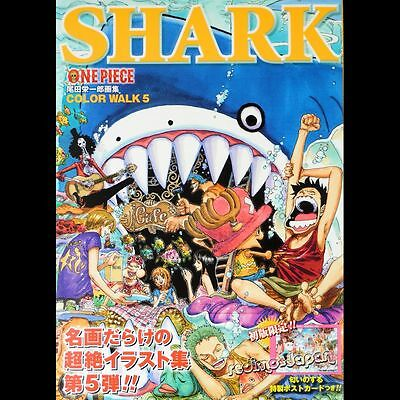 "Artbook ONE PIECE ""Color Walk 5 - SHARK"" Eiichiro Oda Anime-Manga SHUEISHA 2010"