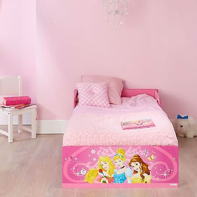 Disney Princess Pink Toddler Bed Official Suitable For 18 Months+ New Free P+P
