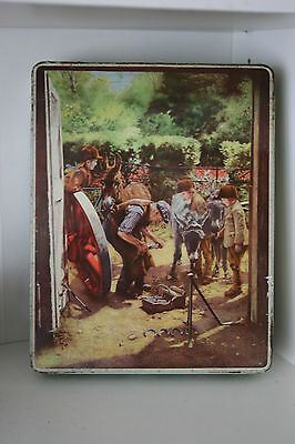 Collectable Vintage Huntley & Palmers Biscuit Tin