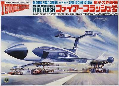 Aoshima 05255 1/350 scale Gerry Anderson Thunderbirds Fire Flash from Japan