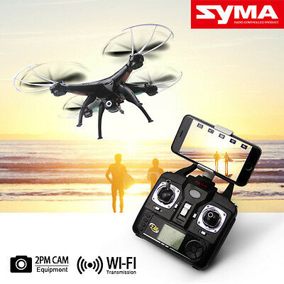 SYMA X5SW 2.4 WIFI FPV RC Quadcopter  HD 2MP 6-Axis Helicopter  Camera Drone