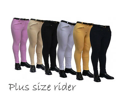 "LADIES PLUS SIZE  COTTON STRETCH JODHPURS | size 34"" through to 40"" waist SALE"
