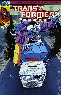 Transformers Regeneration One (2012 IDW) #94RI NM