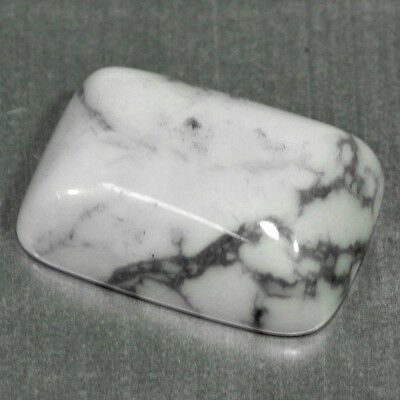 13.67 Cts Very Rare White Color Natural Howlite Loose Gemstones
