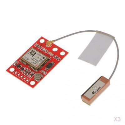 3x GY-NEO6MV2 NEO-6M GPS Module Board with Small Antenna for Arduino