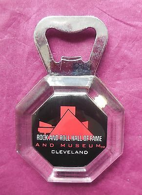 Collectable Fridge Magnet Bottle Open Rock And Roll Hall Of Fame Cleveland Usa