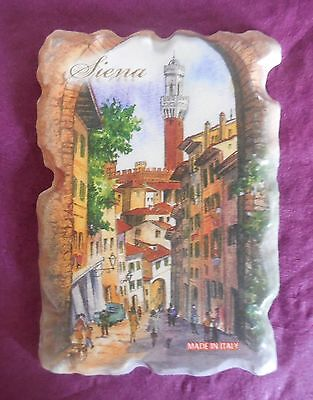 Collectable Fridge Magnet Historic - Siena - Tuscany Italy