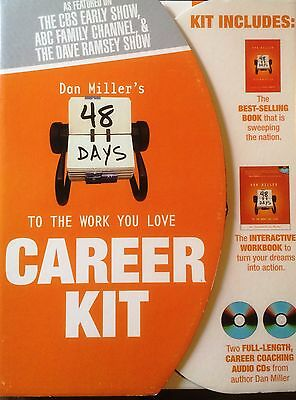 48 Days to the Work You Love Career Kit 2 Coaching CDs Bestselling Book Workbook