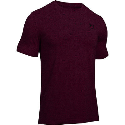 Under Armour Charged Cotton Sportstyle Left Chest Logo T-Shirt red 1257616-603
