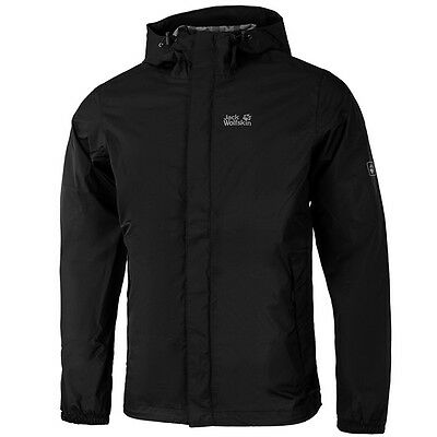 Jack Wolfskin Cloudburst Jacket Men Jacke Outdoor Wetterjacke black 1104952-6000