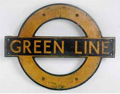 London Transport Greenline Roundel - From Routemaster Coach (Rmc) - 1962