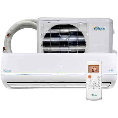 Senville AURA 9000 BTU MiniSplit Air Conditioner Heat Pump Seer 25 ENERGY STAR