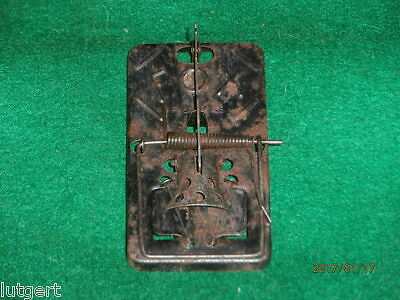 Antique marked mouse trap, FOX