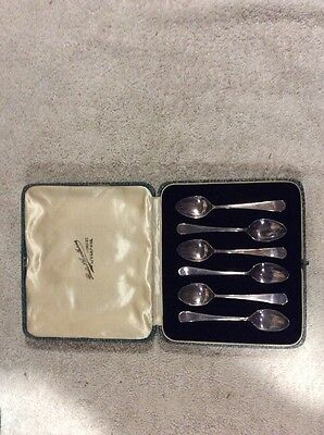 Boodle & Dunthorne Lord St Liverpool Silver Spoon Set Locki