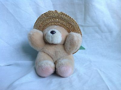 Forever Friend Bear Summer Hat Great Condition