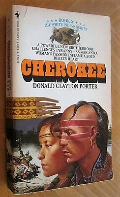 Cherokee by D.C. Porter, classic Western (Paperback, 1984)