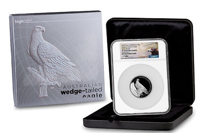 2016-P Australia 5 oz HR Silver Wedge Tailed Eagle NGC PF70 UC Mercanti SKU45117