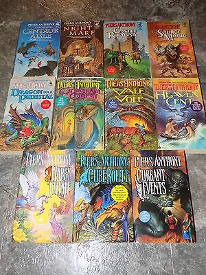 Lot of 11 Xanth novels by Piers Anthony PB
